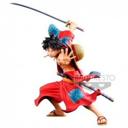 Figura Monkey D. Luffy BWFC...