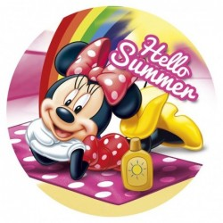 Toalla redonda Minnie Disney