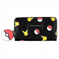Cartera Pickachu Pokemon
