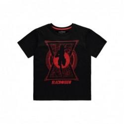 Black Widow Camiseta Chica...