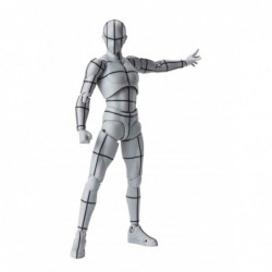 HOMBRE WIREFRAME COLOR GRIS...