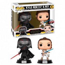 Set 2 figuras POP Star Wars...